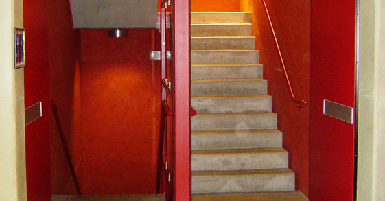 IMAGINE ELEGANT SPACE SOLUTIONS & Industrial Stairwell Doors - Movable Wall Systems | TRW Family